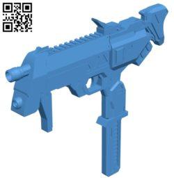 Sombra gun B007036 file stl free download 3D Model for CNC and 3d printer