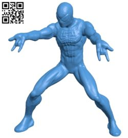 Spider man B006996 file stl free download 3D Model for CNC and 3d printer