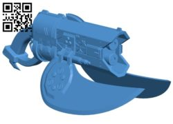 Spiker gun B007010 file stl free download 3D Model for CNC and 3d printer