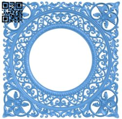 Square pattern A004758 download free stl files 3d model for CNC wood carving