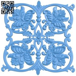 Square pattern dekor A004665 download free stl files 3d model for CNC wood carving