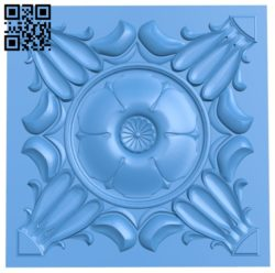 Square pattern design A004772 download free stl files 3d model for CNC wood carving