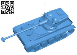 Tank AMX-13 B006946 file stl free download 3D Model for CNC and 3d printer