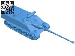 Tank AMX50 Foch B006844 file stl free download 3D Model for CNC and 3d printer