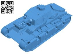 Tank B006993 file stl free download 3D Model for CNC and 3d printer