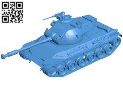 Tank B007053 file stl free download 3D Model for CNC and 3d printer