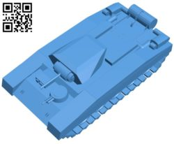 Tank Crusader MKII B006948 file stl free download 3D Model for CNC and 3d printer