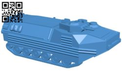 Tank LVTP-7 B006978 file stl free download 3D Model for CNC and 3d printer