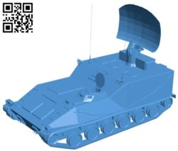 Tank PGZ-95 B006826 file stl free download 3D Model for CNC and 3d printer