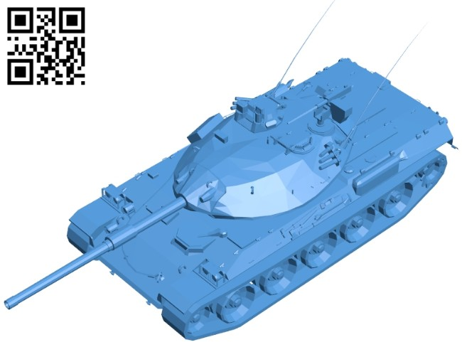 Tank STB B006917 file stl free download 3D Model for CNC and 3d printer