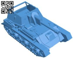 Tank Su-76M B006840 file stl free download 3D Model for CNC and 3d printer