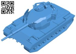 Tank action X B006942 file stl free download 3D Model for CNC and 3d printer
