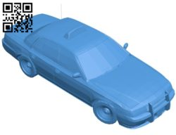 Taxi car B006670 file stl free download 3D Model for CNC and 3d printer
