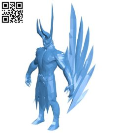 Terrorblade dota B006665 file stl free download 3D Model for CNC and 3d printer