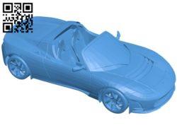Tesla Roadster Car B006663 file stl free download 3D Model for CNC and 3d printer