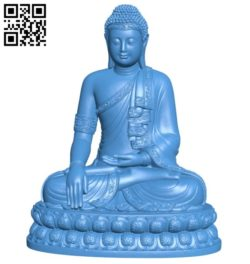 Thailand buddha B006661 file stl free download 3D Model for CNC and 3d printer