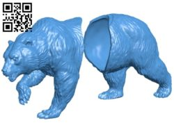 The assembled bear B006984 file stl free download 3D Model for CNC and 3d printer