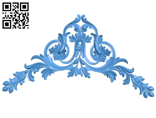 The Decor Pattern In The Corner A004654 Download Free Stl Files 3d Model For Cnc Wood Carving Download Free Stl Files
