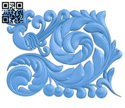 The phoenix decor pattern A004718 download free stl files 3d model for CNC wood carving