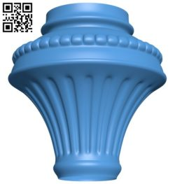 Top of the column A004577 download free stl files 3d model for CNC wood carving