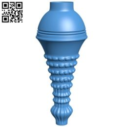 Top of the column A004580 download free stl files 3d model for CNC wood carving