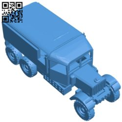 Truck Pioneer R100 B006910 file stl free download 3D Model for CNC and 3d printer