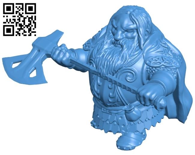 Viking warriors man B006954 file stl free download 3D Model for CNC and 3d printer