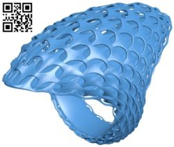 Weaving ring B007014 file stl free download 3D Model for CNC and 3d printer