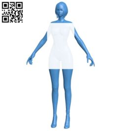 Women B006970 file stl free download 3D Model for CNC and 3d printer