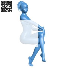 Women B007052 file stl free download 3D Model for CNC and 3d printer