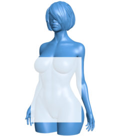 Women figurine B007017 file stl free download 3D Model for CNC and 3d printer