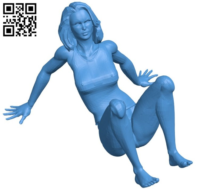 Women phone stand B006719 file stl free download 3D Model for CNC and 3d printer