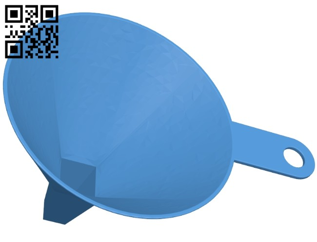 funnel B006909 file stl free download 3D Model for CNC and 3d printer