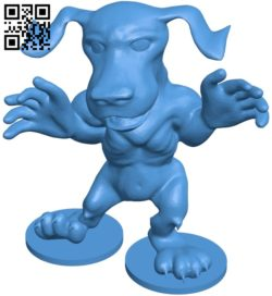 Happy pup – dog B007022 file stl free download 3D Model for CNC and 3d printer
