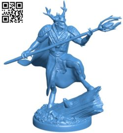 king of the forest B006731 file stl free download 3D Model for CNC and 3d printer