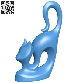 African Cat B007335 file stl free download 3D Model for CNC and 3d printer