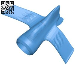 Amazing plane B007370 file stl free download 3D Model for CNC and 3d printer