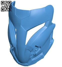 Arcann Mask B007150 file stl free download 3D Model for CNC and 3d printer