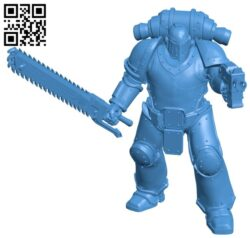 Armored warrior B007157 file stl free download 3D Model for CNC and 3d printer