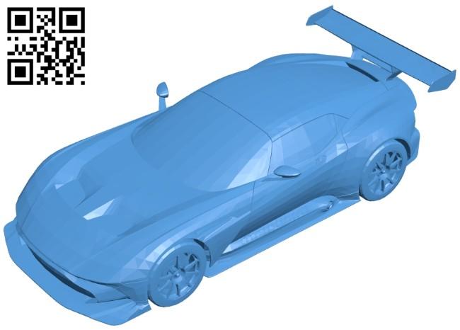 Aston Martin Vulcan Car B007413 file stl free download 3D Model for CNC and 3d printer