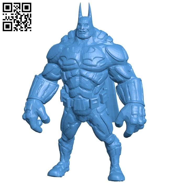 Bat Man 25 B007565 file stl free download 3D Model for CNC and 3d printer