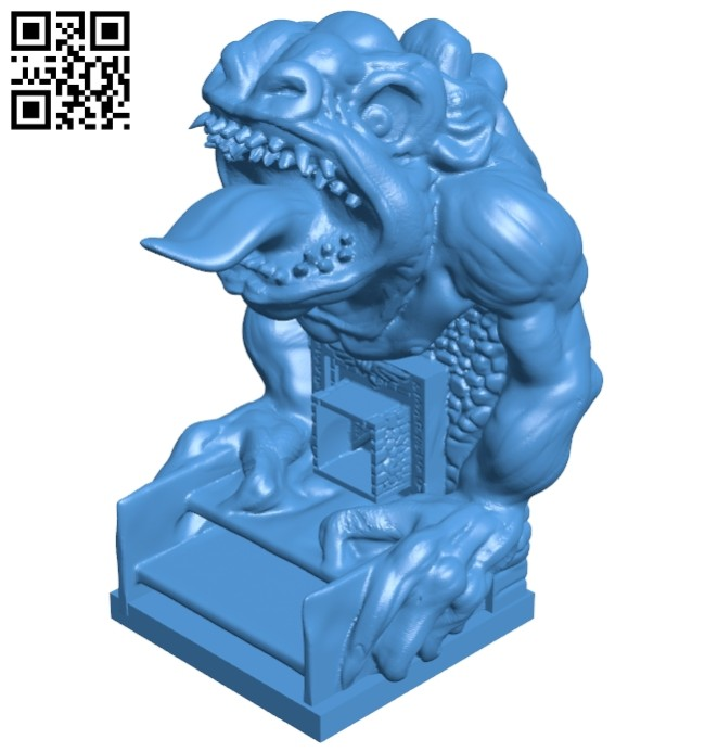 Beast alter B007573 file stl free download 3D Model for CNC and 3d printer
