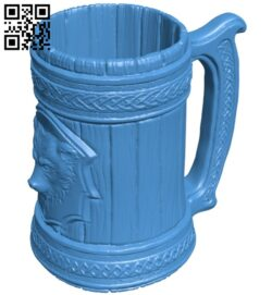 Beer cup B007199 file stl free download 3D Model for CNC and 3d printer