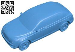 Bentley SUV concept car B007507 file stl free download 3D Model for CNC and 3d printer