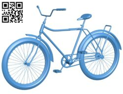 Bicycle usual B007576 file stl free download 3D Model for CNC and 3d printer