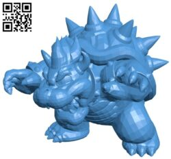 Bowser B007593 file stl free download 3D Model for CNC and 3d printer