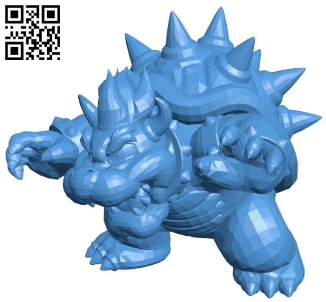 Bowser B007593 file stl free download 3D Model for CNC and 3d printer