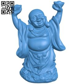 Buddha B007189 file stl free download 3D Model for CNC and 3d printer