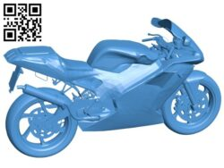 Cagiva moto evo B007471 file stl free download 3D Model for CNC and 3d printer