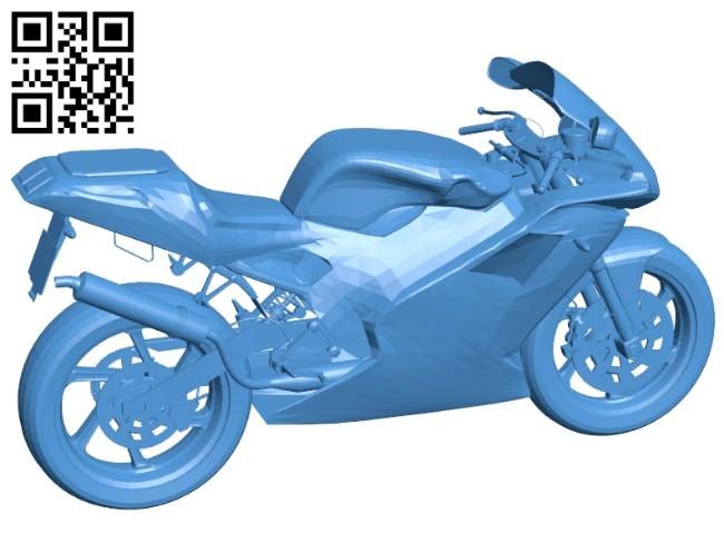 Cagiva moto evo B007471 file stl free download 3D Model for CNC and 3d printer